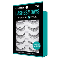 COSMANIA | Lashes | So Natural Black- 5 pack