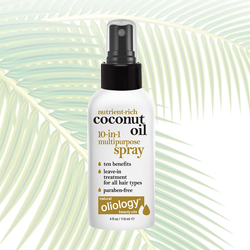OLIOLOGY   Coconut Oil 10 in 1 Treatment - 4 oz.