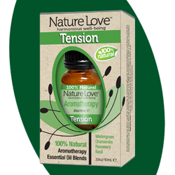 NATURE LOVE | Essential Oil Blend - 100% Natural - Tension 10ml