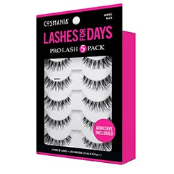 COSMANIA | Lashes | Wispies Black- 5 pack